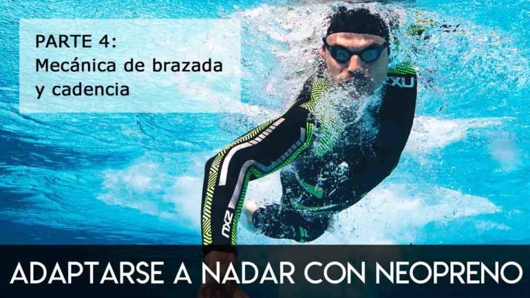 Adaptarse a nadar con neopreno: parte 4