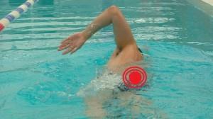 natacion dolor de espalda