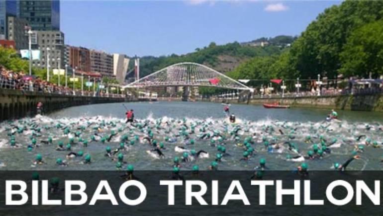 Triatlón de Bilbao: donde nadar segun la corriente