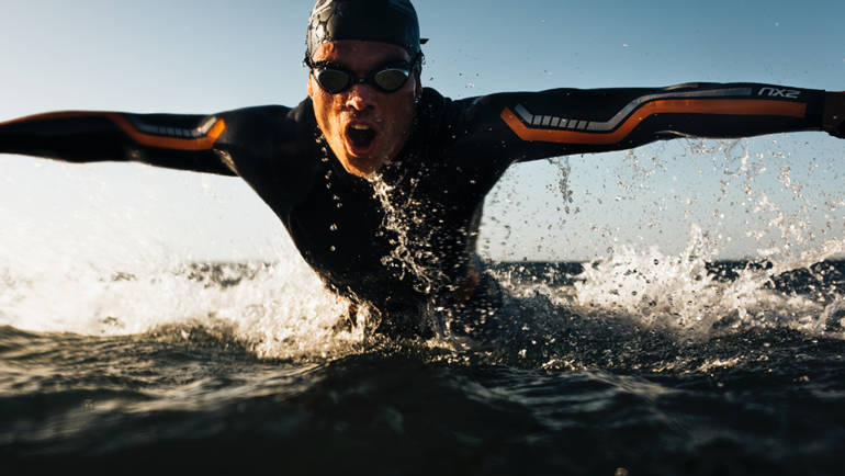 1k Swims and Sprint Triathlon