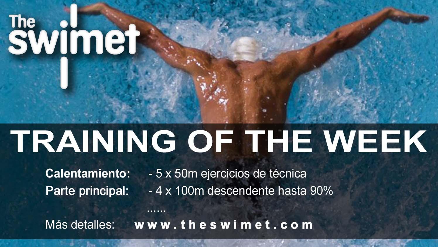 entrenamiento natacion 10 the swimet