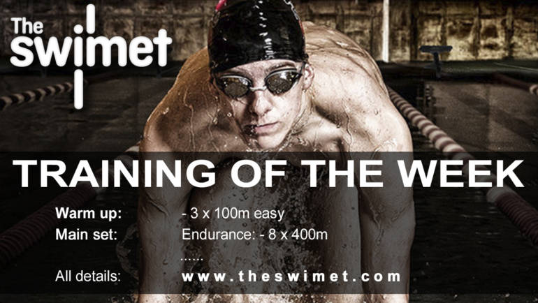 Swim training of the week 11