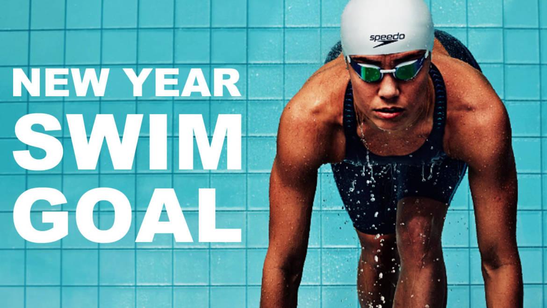 Swim challenge 1: 1st swim training of the year
