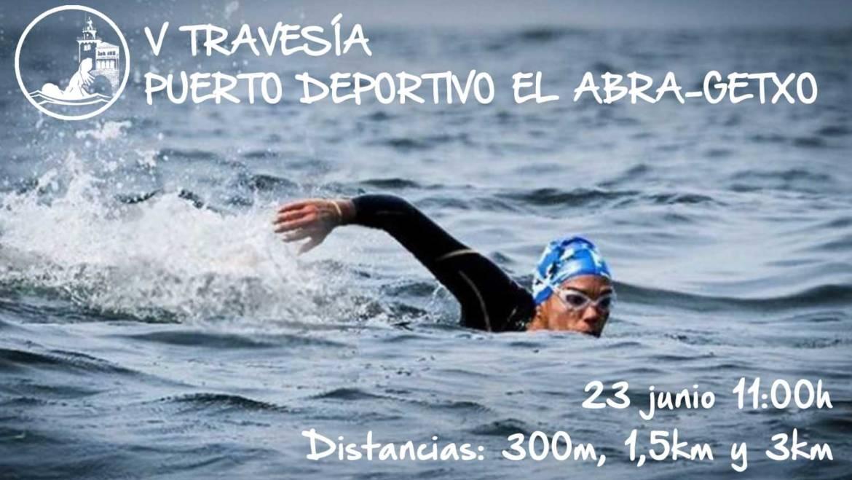 V Travesía a nado Puerto Deportivo El Abra Getxo
